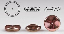 Glas-Ripple Bead