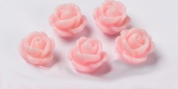 Resin Rose Beads