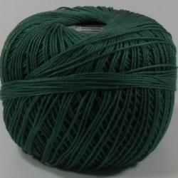 (6674) 30 Gramm Häkelgarn N° 20 waldgrün