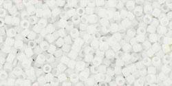 5g TOHO SeedBeads 15/0 TR-15-0041 - Opaque White