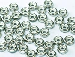 #07 50 Stck. Wheel Beads Ø 6mm - chalk white labrador full