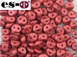 #28 50 Stck. Es-o Beads Ø 5mm - Metallic Red