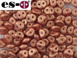 #30 50 Stck. Es-o Beads Ø 5mm - Metallic Copper