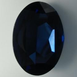 1 Glas-Oval Ø 30x20x8 mm - montana