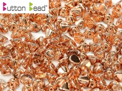 #05.01 50 Stck. Button Beads 4mm Crystal Capri Gold