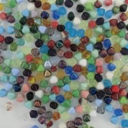#21 - 50g Druck-Perlensuppe - Bicone 6mm