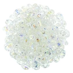 #00.01 - 10g MiniDuo-Beads  Crystal AB
