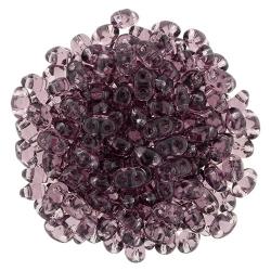 #10.00 - 10g MiniDuo-Beads  Tr. Med Amethyst
