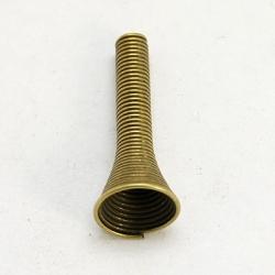 10 Stück Metallzwischenteile 10x24mm - Bronze