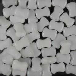 #30.00 25 Stck. 8x6 mm CoCo Bead horizontal - alabaster