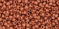 10 g TOHO Seed Beads 11/0 TR-11-0046 L - Opaque Terra Cotta