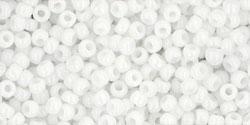 10 g TOHO Seed Beads 11/0 TR-11-0041 - Opaque White