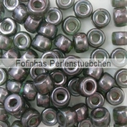 #04.03 - 25 Stück Roller Beads 6x4 mm - sapphire lazure blue