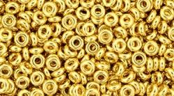 5 g TOHO Demi Round 8/0 TN-08-0712 - metallic gold 24k