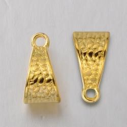1 Stück Metallschlaufe Ø12 mm gold