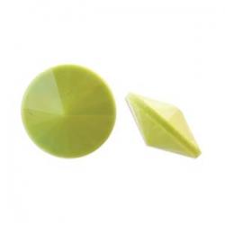 1 Glas-Rivoli Ø 14 mm - Wasabi