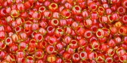 10 g TOHO Seed Beads 11/0 TR-11-0303 - Inside-Color Jonquil/Hyacinth Lined (E)