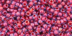 10 g TOHO Seed Beads 11/0 TR-11-0304 - Inside-Color Lt. Sapphire/Hyacinth Lined (E)