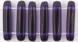 1 Strang 2-Hole Bar 15x5mm - Tansanite