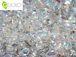 #01.01 - 50 Stck. Gekko Bead 3x5 mm - Crystal AB