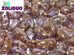 #01.06 - 25 Stück Zoliduo Left Version 5 x 8 mm Crystal Gold
