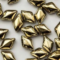 #01.06 - 25 Stück GemDUO 5x8 mm - Crystal Amber