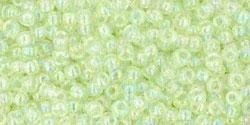 10 g TOHO Seed Beads 11/0 TR-11-0173 - Dyed-Rainbow Lemon Mist