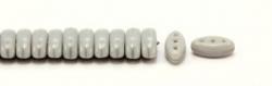 #07.00 - 25 Stück CALI Beads 3x8 mm - Opaque Gray