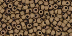 10 g TOHO Seed Beads 11/0 TR-11-0702 - Matte-Color Dark Copper (C)