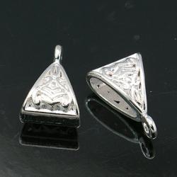 1 Stück Metallschlaufe Ø15,5 mm silber