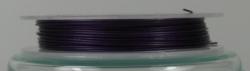 1 Rolle Stahldraht/nylonummantelt - lila