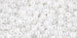 10 g TOHO Seed Beads 11/0 TR-11-0141 - Ceylon Snowflake