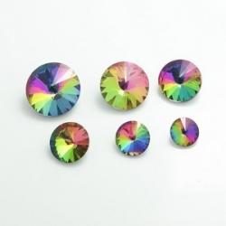 1 Glas-Rivoli 12 mm - crystal vitrail