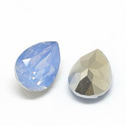 1 Resin Tear Stone, 13x18 mm - Air Blue Opal