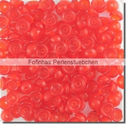 #09.02 - 50 Stück Teacup Beads 2x4 mm - Siam Ruby