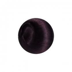 1 Seidenball Ø ca. 28 mm - aubergine