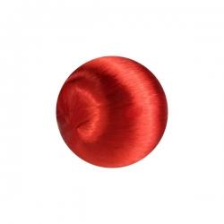 1 Seidenball Ø ca. 28 mm - rot