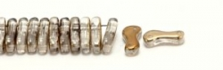 #00.00 - 50 Stück Link Beads 3x10 mm - Crystal Valentinite