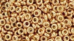 5 g TOHO Demi Round 8/0 TN-08-PF551 - PermaFinish - Galvanized Rose Gold