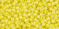 10 g TOHO Seed Beads 11/0 TR-11-0128 - Opaque-Lustered Dandelion