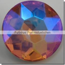1 Glas-Dentelle Ø 35 mm - topaz AB