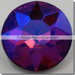 1 Glas-Dentelle Ø 35 mm - fuchsia AB