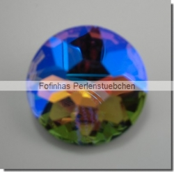 1 Glas-Dentelle Ø 27 mm - rainbow AB