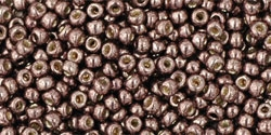 10 g TOHO Seed Beads 11/0 TR-11-PF556 - Permanent Finish - Galvanized Mauve (A,D,C)