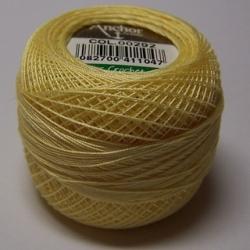 5 Gramm Spitzen-Häkelgarn gelb N°80