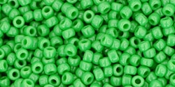 10 g TOHO Seed Beads 11/0 TR-11-0047 - Opaque Mint Green