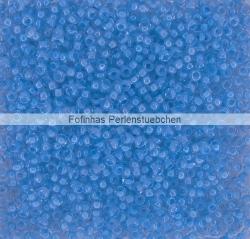 #11.00 - 10 g PRECIOSA Terra Rocailles 11/0 2,2 mm - Crystal/Aquamarine-Lined