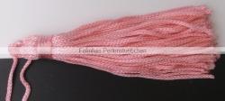 1 Stück Textil-Quaste (ca. 7,0cm) - mit Schlaufe - pink