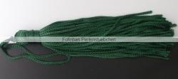 1 Stück Textil-Quaste (ca. 7,0cm) - mit Schlaufe - dk emerald