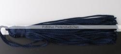 1 Stück Textil-Quaste (ca. 7,0cm) - mit Schlaufe - marine blue